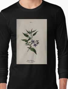 Wayside and woodland blossoms a pocket guide to British wild flowers for the country rambler  by Edward Step 1895 099 Bittersweet Long Sleeve T-Shirt