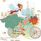 Paris dreams by yaskii