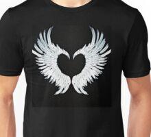 Angel wings heart Unisex T-Shirt