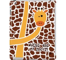Where are my spots? iPad Case/Skin