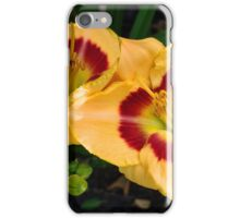Yellow & Red Lillies iPhone Case/Skin