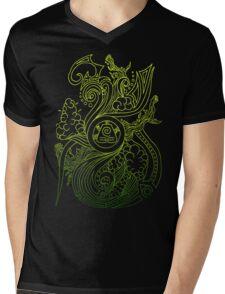 Earth Spirit. Mens V-Neck T-Shirt