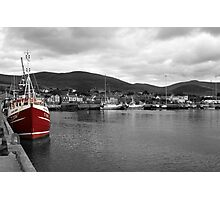 Red Fishing Trawler  Photographic Print