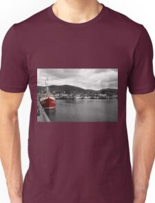 Red Fishing Trawler  Unisex T-Shirt