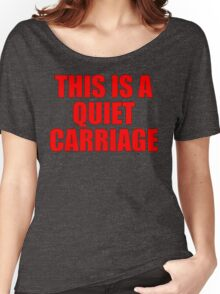 Quiet Carriage Women's Relaxed Fit T-Shirt