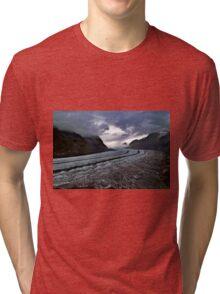 aletsch glacier Tri-blend T-Shirt
