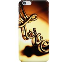 Love... is a keyring iPhone Case/Skin