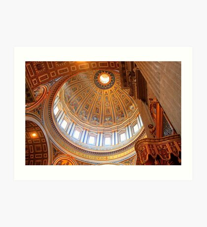 St. Peter's Dome Art Print
