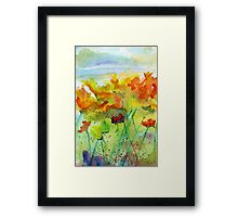 Yellow Flowers #2 Framed Print