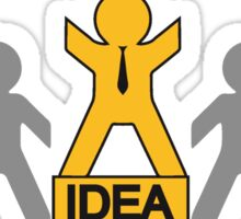 successful winner champion idea Sticker