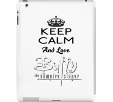 Love Buffy  iPad Case/Skin