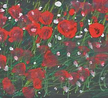Poppies - by Keira by dougshaw