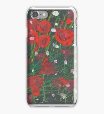 Poppies - by Keira iPhone Case/Skin
