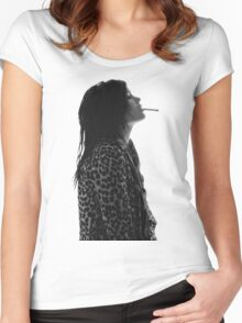 Alison Mosshart Women's Fitted Scoop T-Shirt