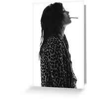Alison Mosshart Greeting Card
