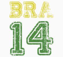 BRAZIL 2014 One Piece - Long Sleeve