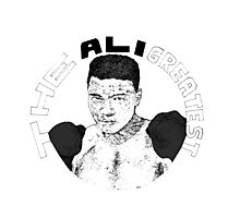 Ali - The Greatest Photographic Print