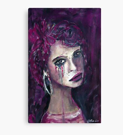 Sad Lisa Canvas Print