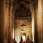 Angkor Buddha by Madeline Snow