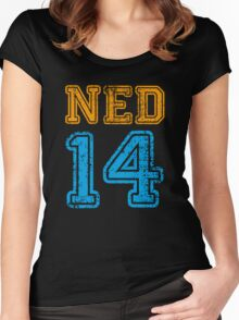 NETHERLANDS 2014 Women's Fitted Scoop T-Shirt