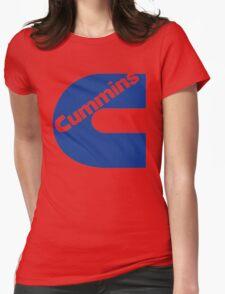CUMMINS BLUE Womens Fitted T-Shirt