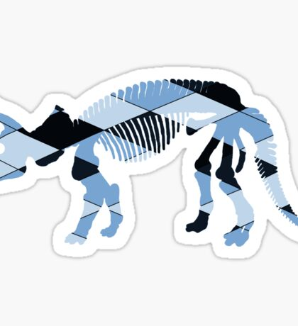 Triceratops skeleton Sticker