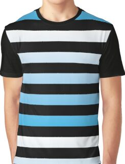 Oceanic Stripes Graphic T-Shirt