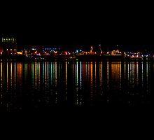 An Industrial Eyesore Lights Up by Leanne Kelly