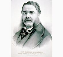Gen. Chester A. Arthur - Republican candidate for vice-president - 1880 - Currier & Ives Unisex T-Shirt