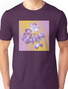 ORCHID ORCHID WITH BACKGROUND Unisex T-Shirt