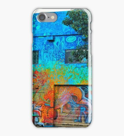 A Mission District Mural II iPhone Case/Skin