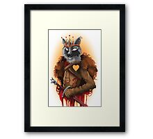 Young Wolf Framed Print