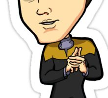 Star Trek Voyager - Vorik the Vulcan Sticker