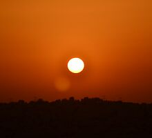 Dubai Desert Sunset - 3 by adamg17