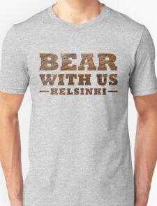 Bear With Us Helsinki Hairy Logo T-Shirt