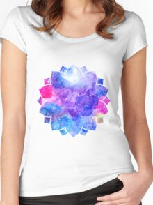 Lotus Flower Women's Fitted Scoop T-Shirt