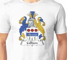 Collison Coat of Arms / Collison Family Crest Unisex T-Shirt