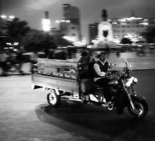 Night Rider, Lima, Peru by Bob Ramsak