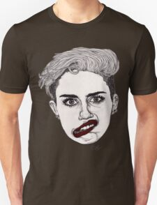 Miley with Red Lips T-Shirt