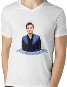 Romanian Angel Mens V-Neck T-Shirt