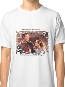 Buffy Giles Watchers Love Classic T-Shirt