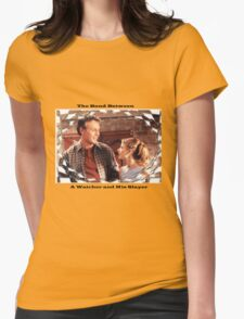 Buffy Giles Watchers Love Womens Fitted T-Shirt