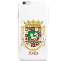 Avila Shield of Puerto Rico iPhone Case/Skin