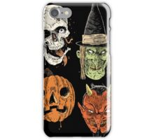 Say You Love Satan 80s Horror Podcast Logo 2 iPhone Case/Skin