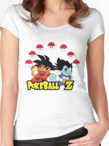 Poke Ball Z Women's Fitted Scoop T-Shirt