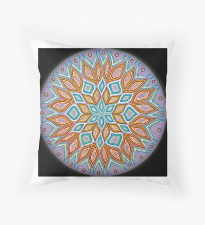 Mandala Love  Throw Pillow