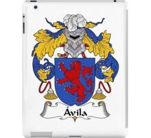 Avila Coat of Arms/Family Crest iPad Case/Skin