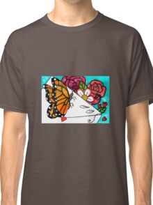 Butterfly letter Classic T-Shirt