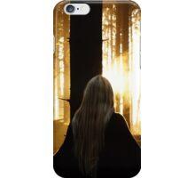 Dark Forest Witch iPhone Case/Skin