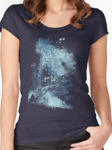 forest spirit rising Women's Fitted Scoop T-Shirt